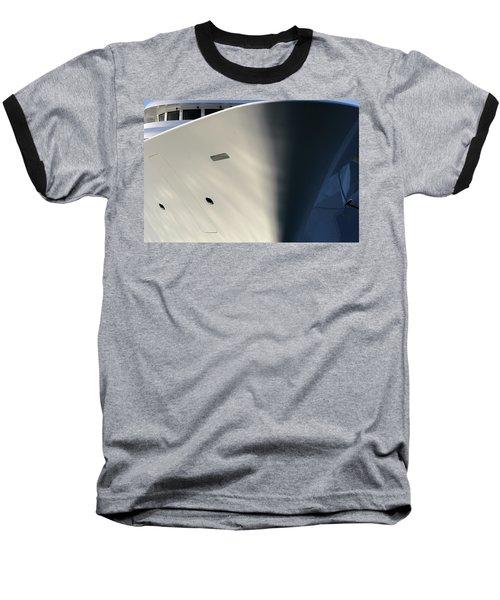Bow Of Mega Yacht Baseball T-Shirt