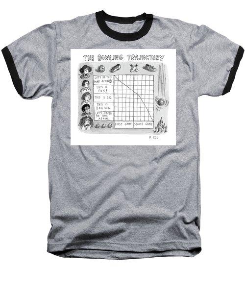 Bowling Trajectory Baseball T-Shirt