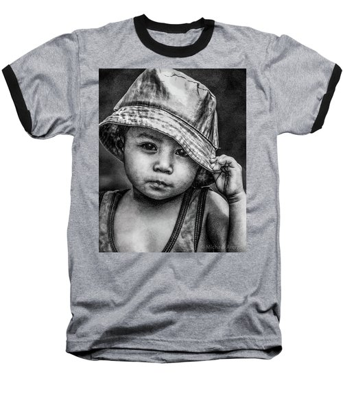 Baseball T-Shirt featuring the photograph Boy-oh-boy by Michael Arend