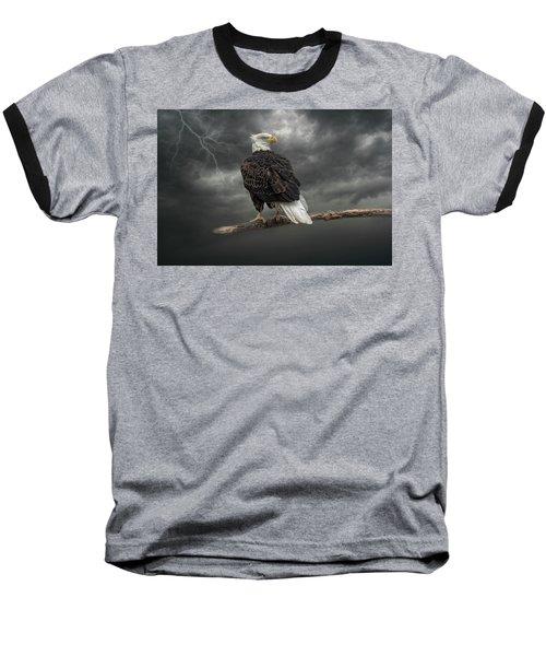 Braving The Storm Baseball T-Shirt
