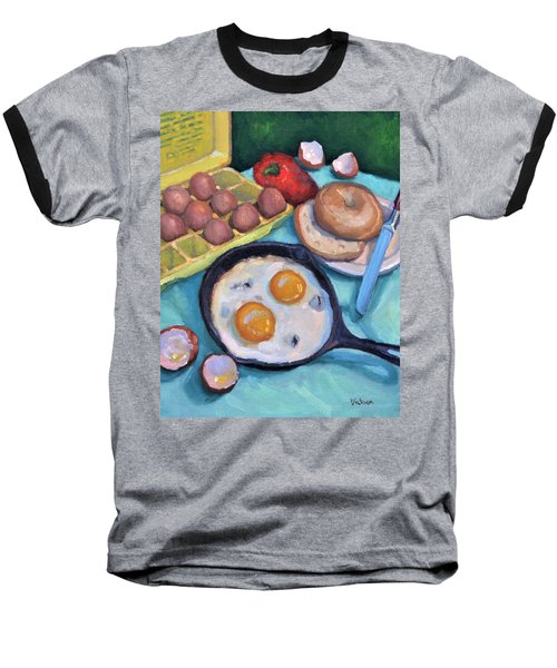 Breakfast Baseball T-Shirt