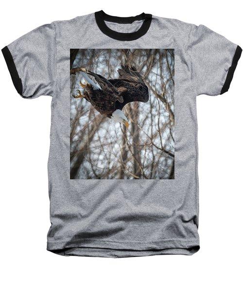 Breakfast On The Fly Baseball T-Shirt