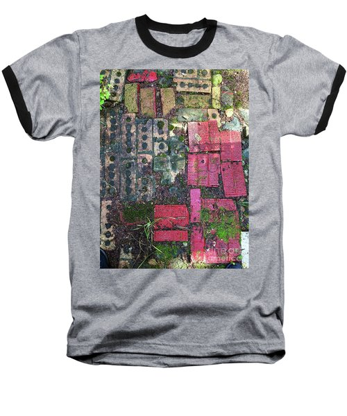 Brick Composition 3 Baseball T-Shirt