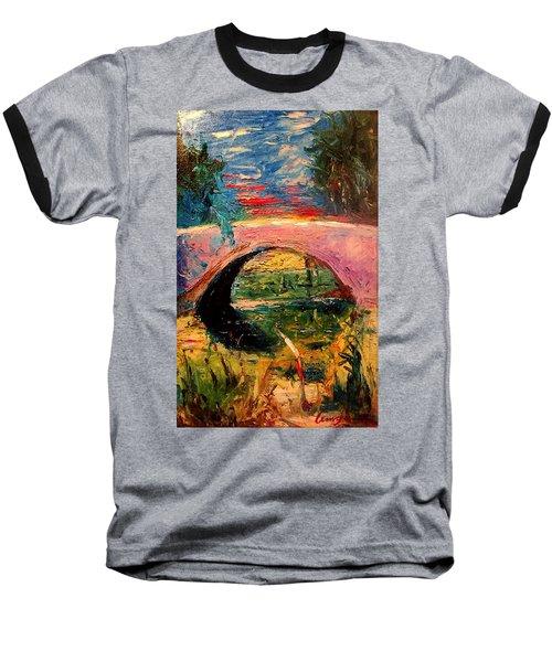 Bridge At City Park Baseball T-Shirt