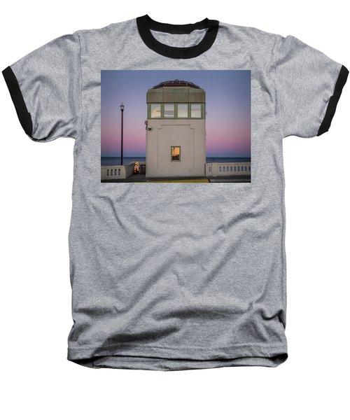 Bridge Tender's Tower Baseball T-Shirt
