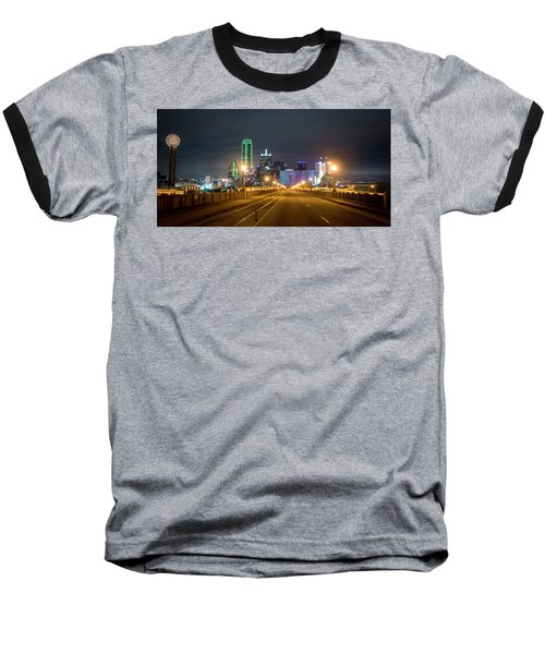 Baseball T-Shirt featuring the photograph Bridge To Dallas by David Morefield