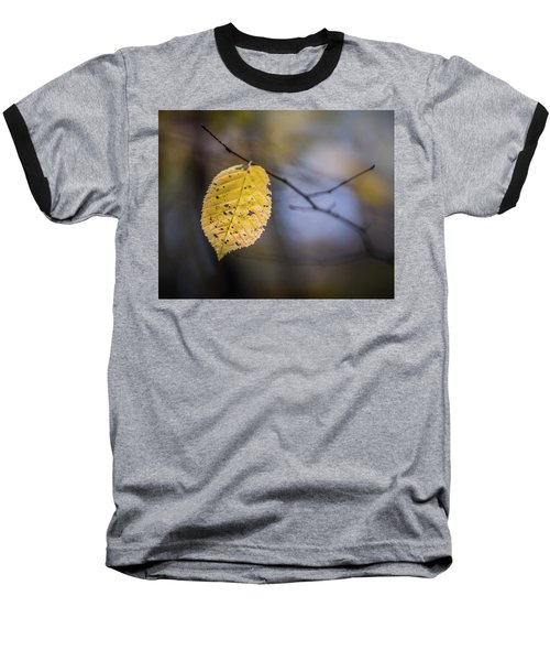 Baseball T-Shirt featuring the photograph Bright Fall Leaf 3 by Michael Arend