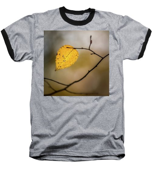 Baseball T-Shirt featuring the photograph Bright Fall Leaf 8 by Michael Arend