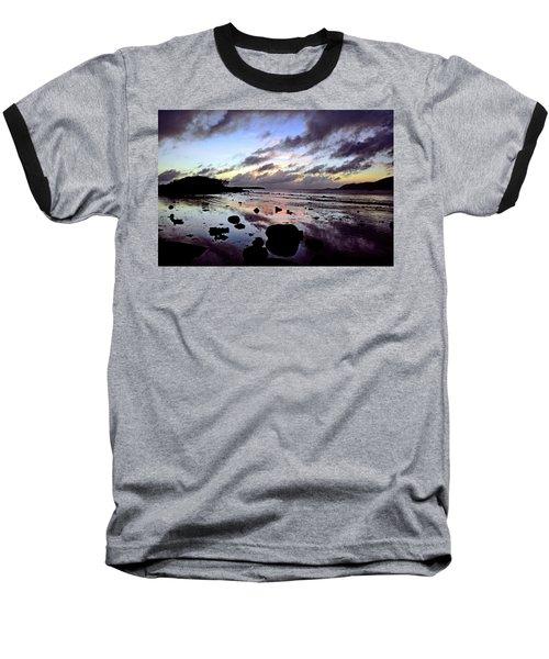 Bright Mirror Of Sunset Light Baseball T-Shirt