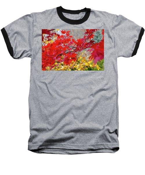 Brilliant Fall Color Baseball T-Shirt