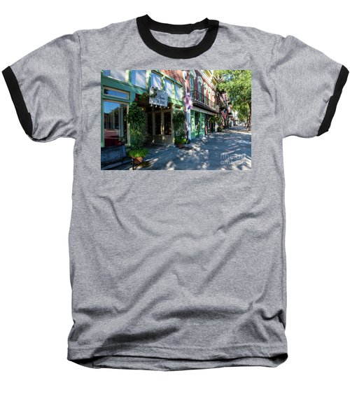 Broad Street Downtown Augusta Ga Baseball T-Shirt