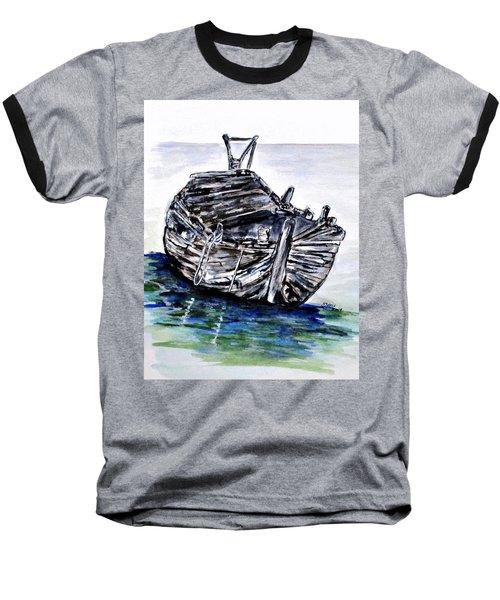Broken But Afloat Baseball T-Shirt