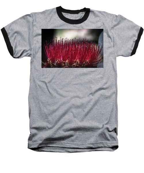 Brush Flower Baseball T-Shirt