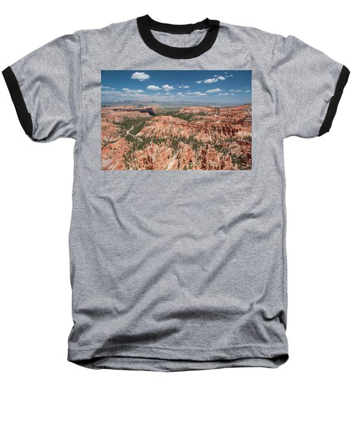 Bryce Canyon Trail Baseball T-Shirt