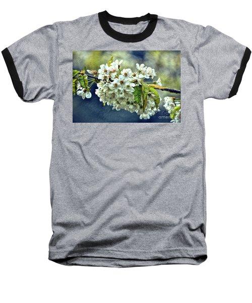 Budding Blossoms Baseball T-Shirt