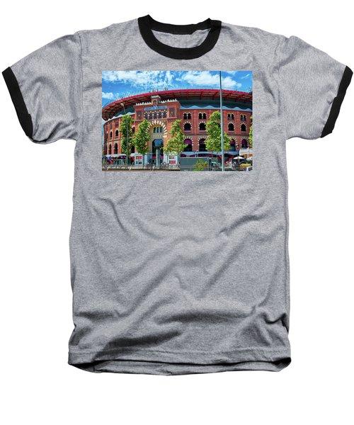 Bullring In Barcelona Baseball T-Shirt