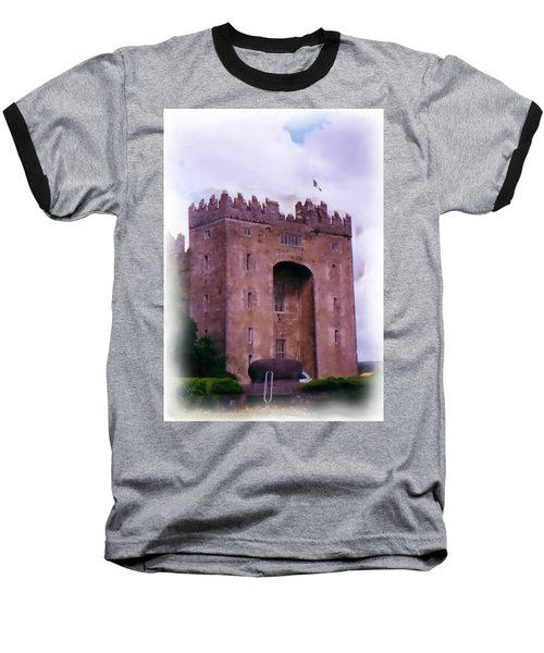 Bunratty Castle Painting Baseball T-Shirt
