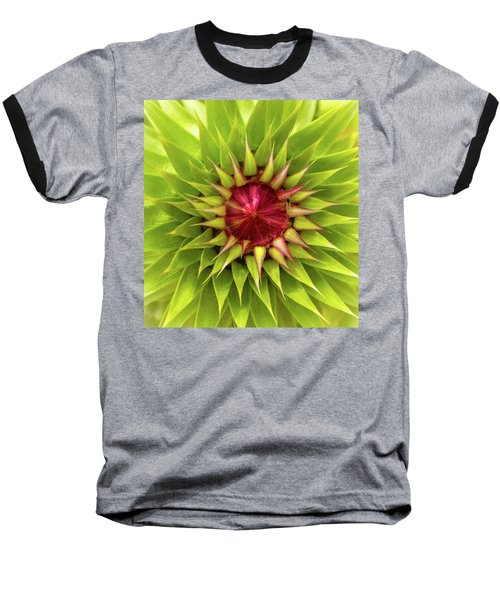Burst Of Lime Baseball T-Shirt
