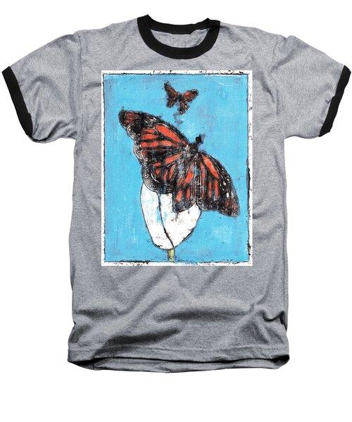 Butterfly Garden Summer 1 Baseball T-Shirt