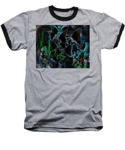 Butterfly Patterns 5 Baseball T-Shirt