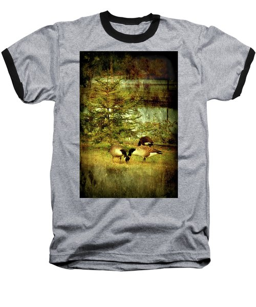 By The Little Tree - Lake Carasaljo Baseball T-Shirt
