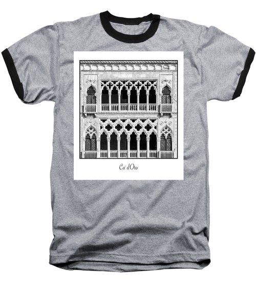 Ca' D'oro Baseball T-Shirt