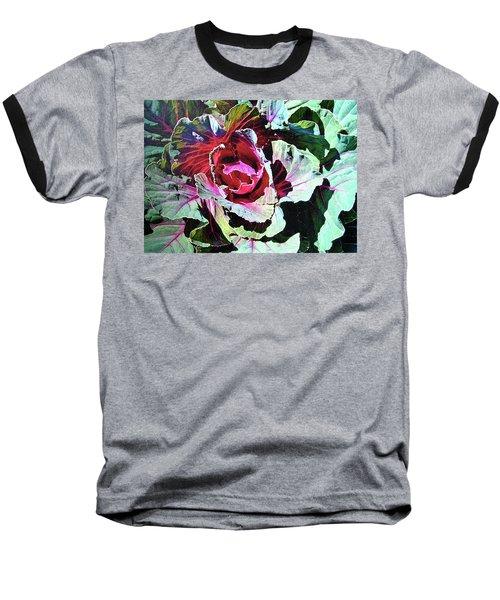 Cabbage Baseball T-Shirt