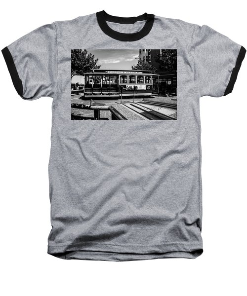 Cable Car Turn Around Baseball T-Shirt