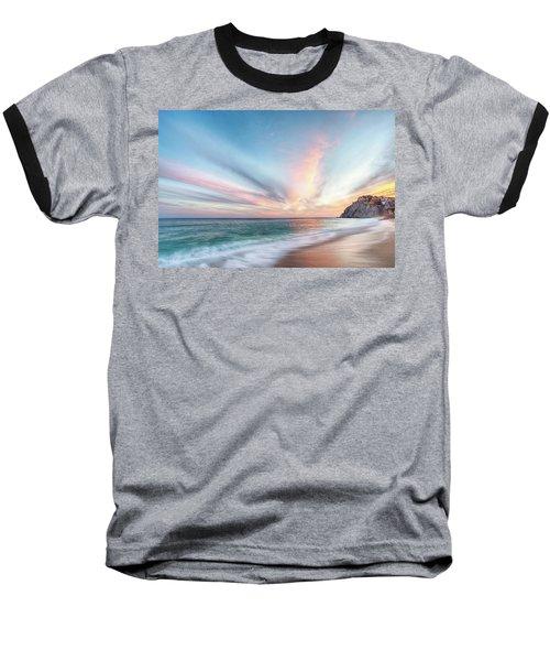 Cabo San Lucas Beach Sunset Mexico Baseball T-Shirt