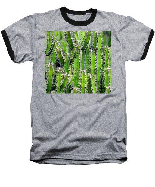Cacti Wall Baseball T-Shirt