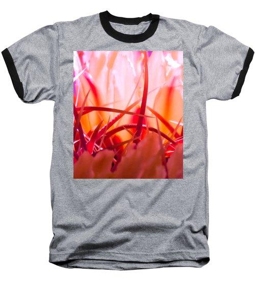 Cactus Cathedral Baseball T-Shirt