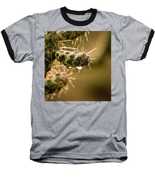 Cactus Detail Baseball T-Shirt
