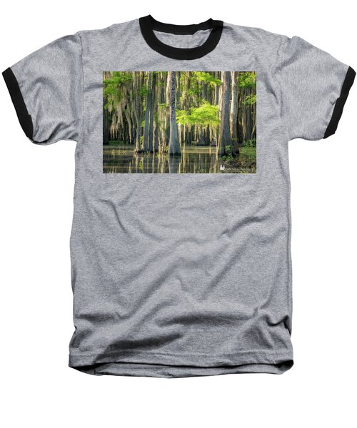Caddo Swamp 1 Baseball T-Shirt