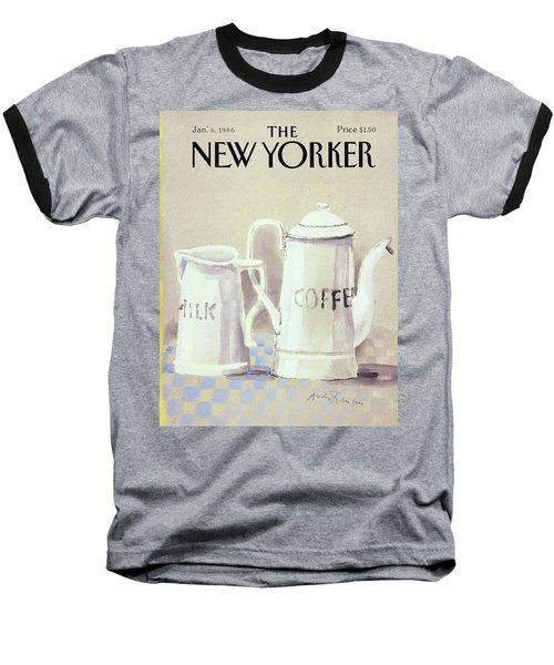 Cafe Au Lait Baseball T-Shirt