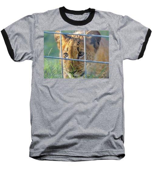 Caged Baseball T-Shirt