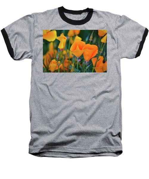 California Poppies Lake Elsinore Baseball T-Shirt