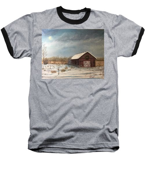 Cambridge Christmas Baseball T-Shirt