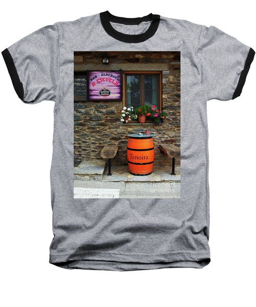 Camino Pilgrim's Repast Baseball T-Shirt