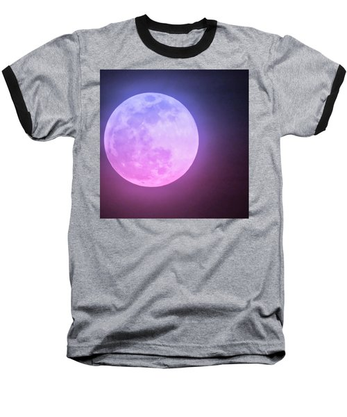 Cancer Super Wolf Blood Moon Near Eclipse Baseball T-Shirt