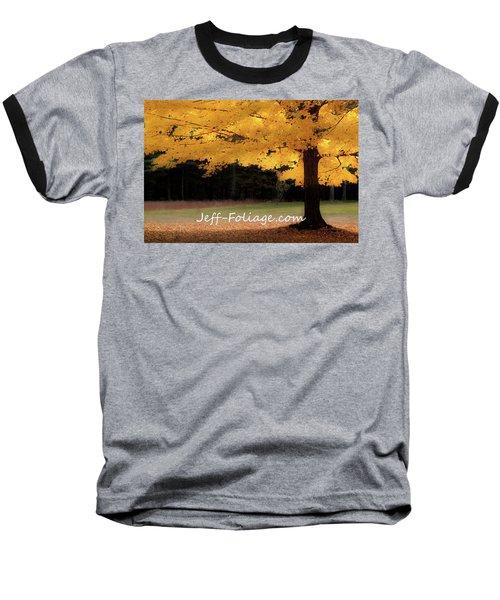 Canopy Of Gold Fall Colors Baseball T-Shirt