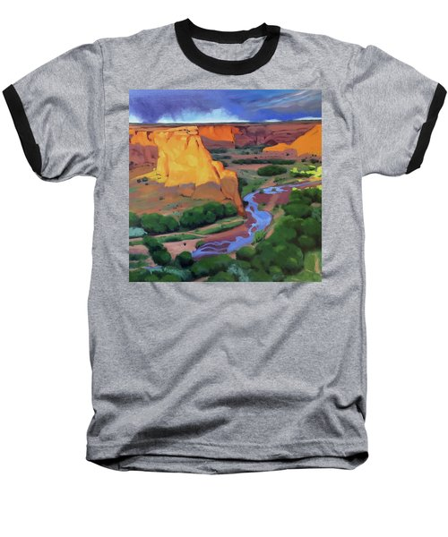Canyon De Chelly Baseball T-Shirt