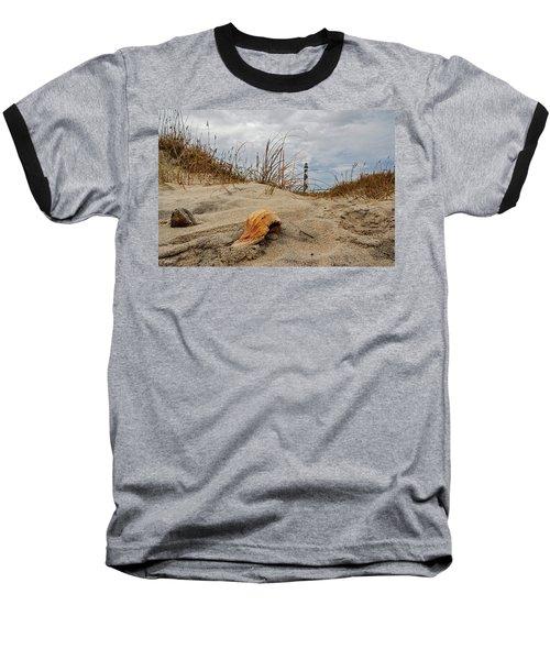 Cape Lookout Lighthouse Baseball T-Shirt