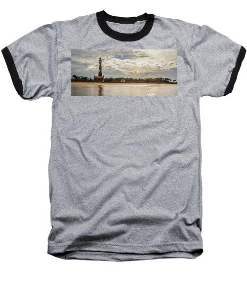 Cape Lookout Lighthouse No. 3 Baseball T-Shirt