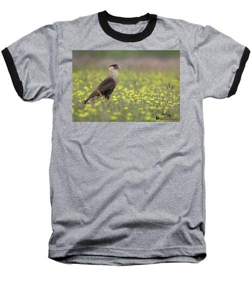 Caracara In Spring Baseball T-Shirt