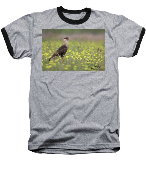 Caracara In Spring Baseball T-Shirt