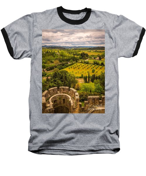 Carcassonne Baseball T-Shirt