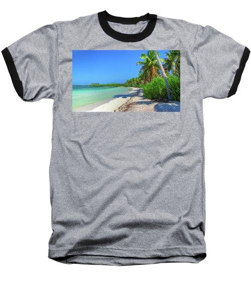 Caribbean Palm Beach Baseball T-Shirt