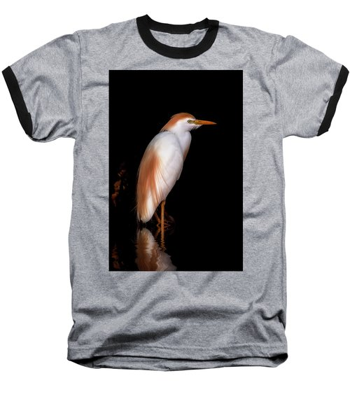 Cattle Egret Baseball T-Shirt