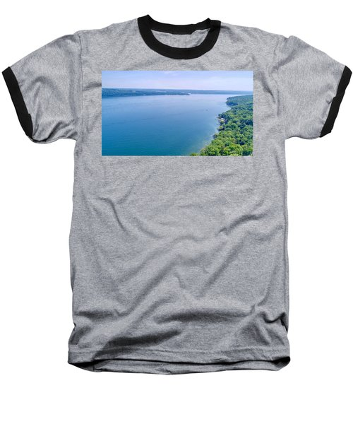 Cayuga From Above Baseball T-Shirt