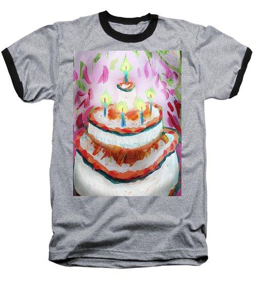 Celebration Cake Baseball T-Shirt